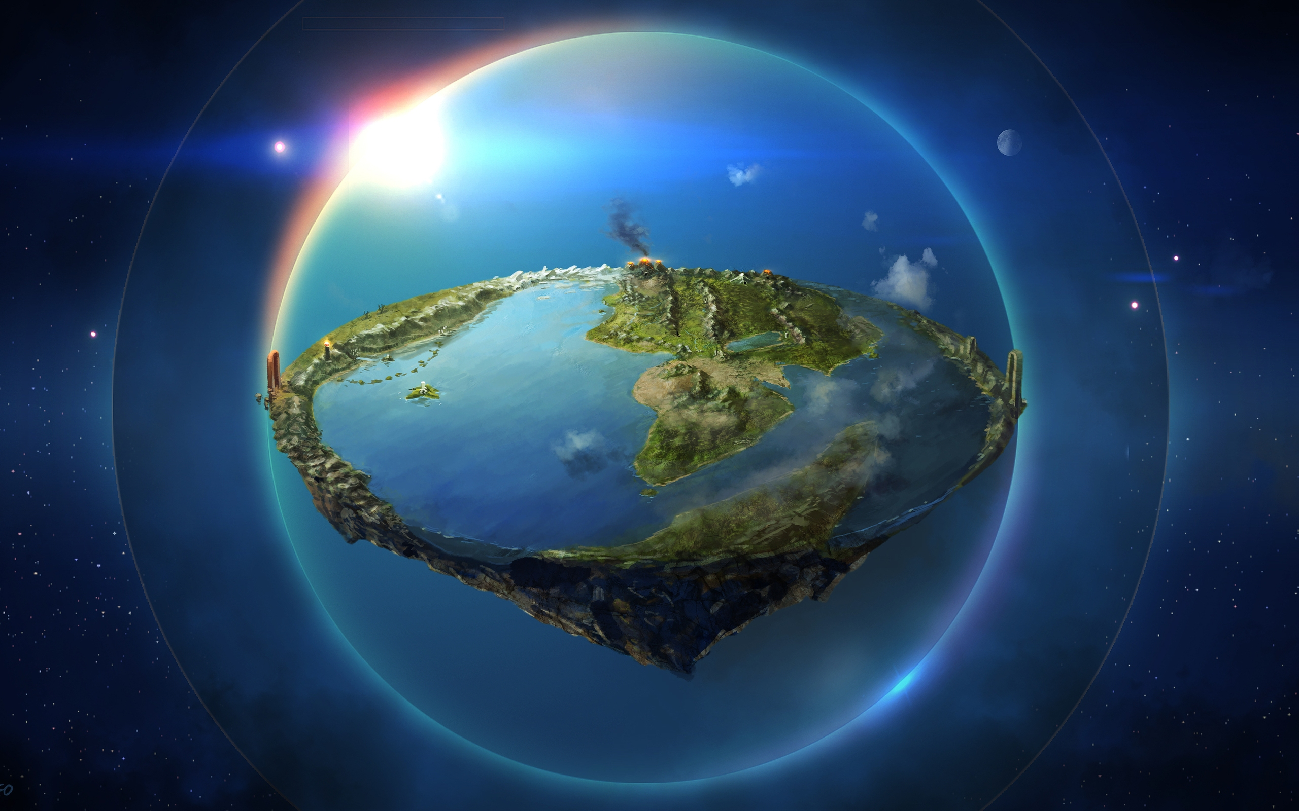 3d earth wallpaper