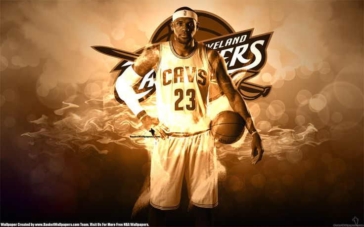Fresh new 2880x1800 widescreen wallpaper of LeBron James in 2014 2015 736x460