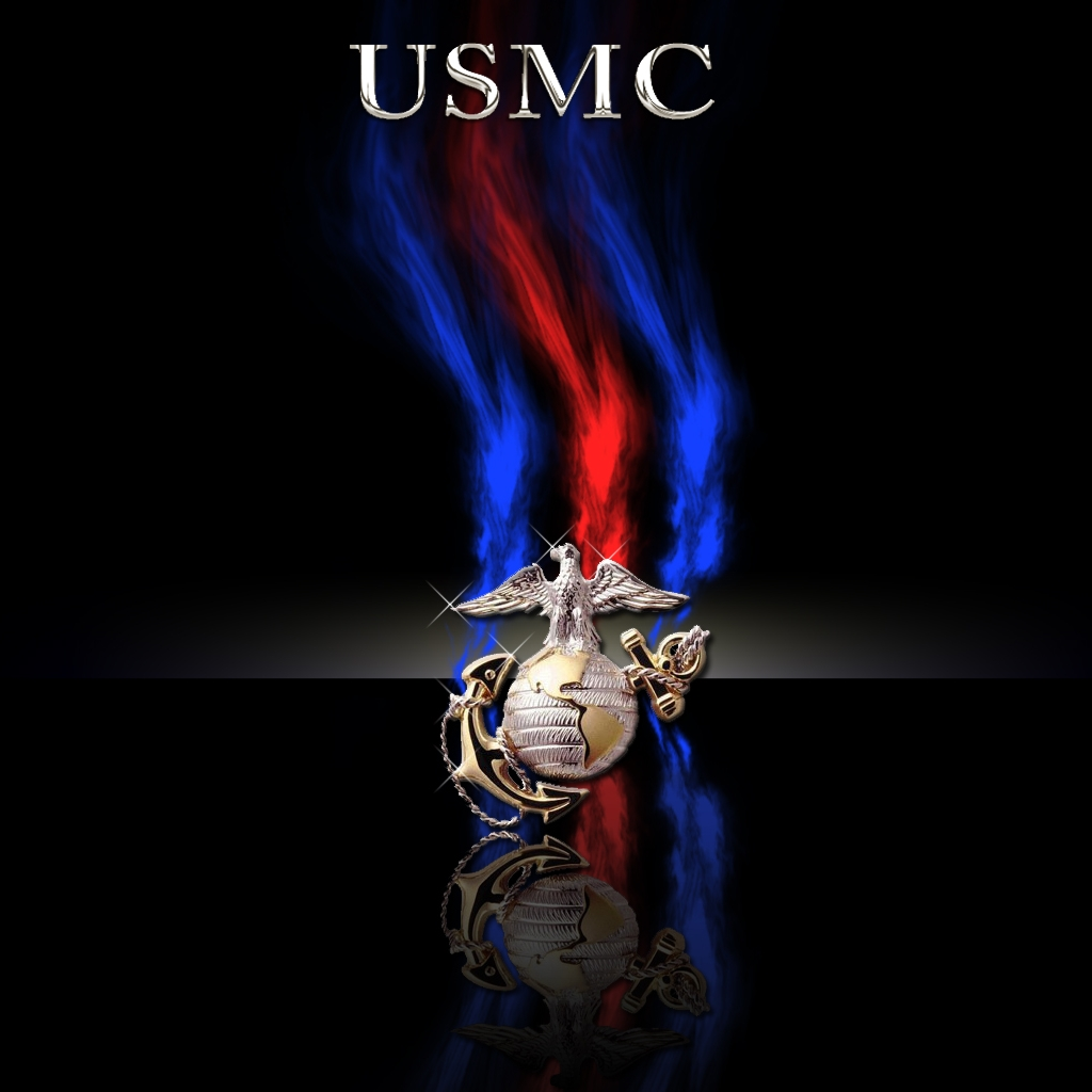 marine corps wallpaper USMC Marine Corps Logo Wallpaper 1024x1024