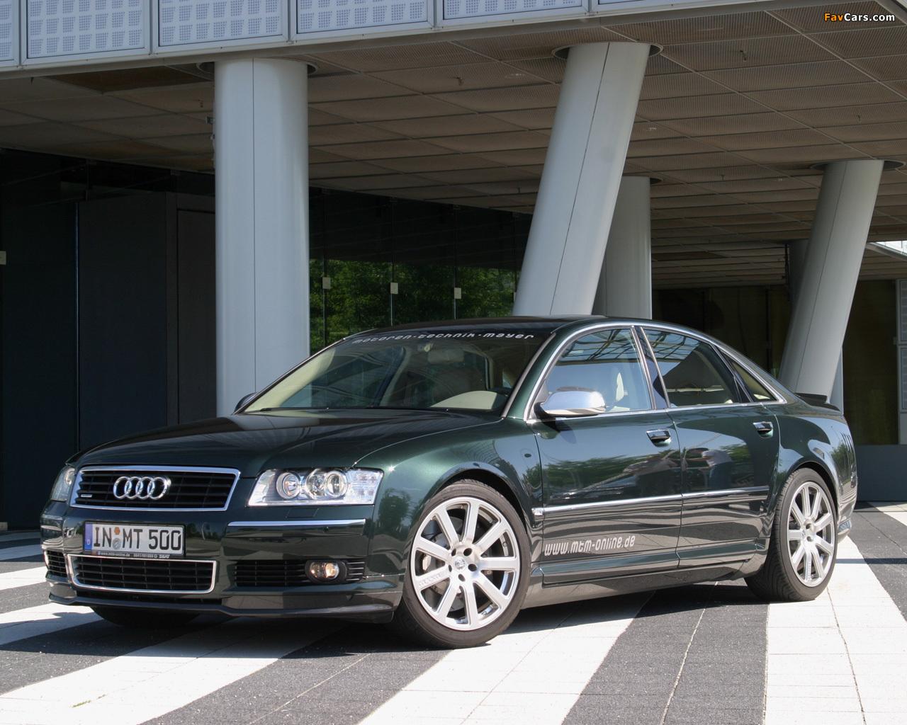 MTM Audi A8 D3 wallpapers 1280x1024 1280x1024