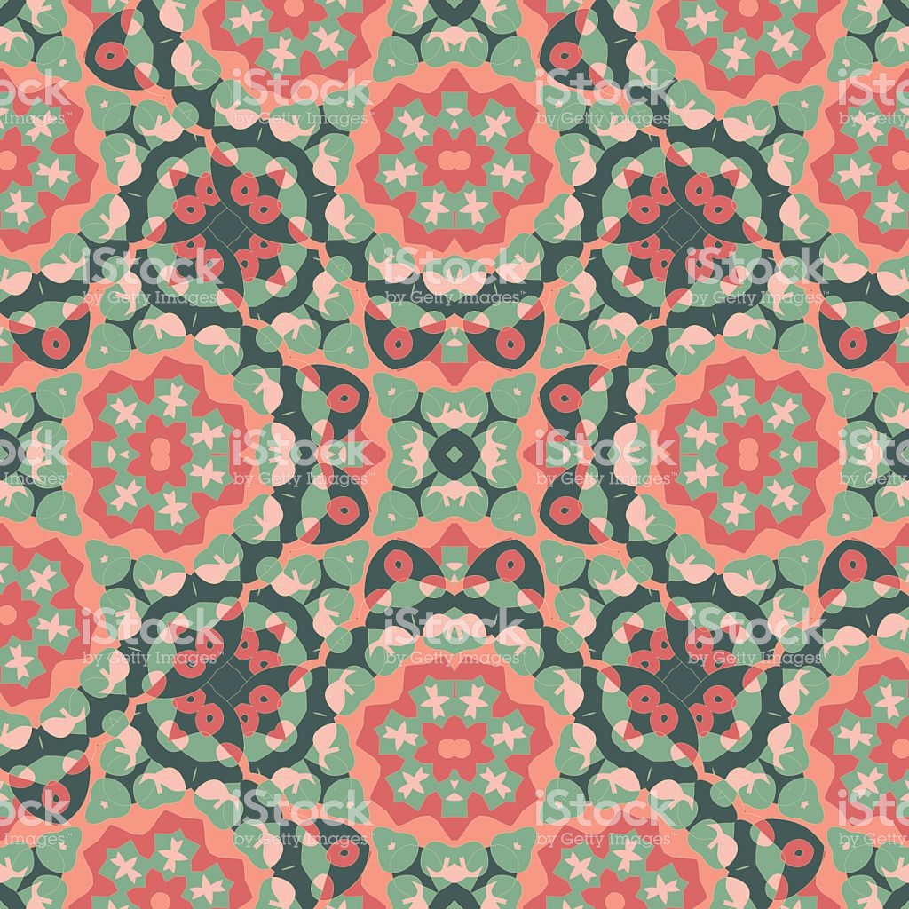 Seamless Oriental Wallpaper Endless Orient Inspired Background 1024x1024