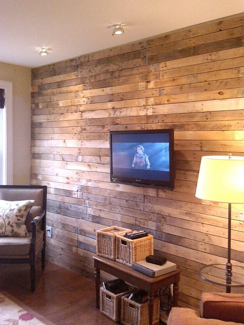 DIY Wood Wall Treatments   5 Ideas   Bob Vila 495x660