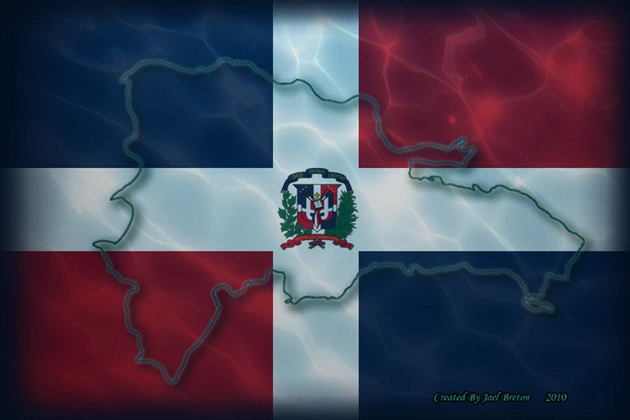 Dominican Republic Flag Wallpaper httpsuperjay15deviantartcomart 900x600