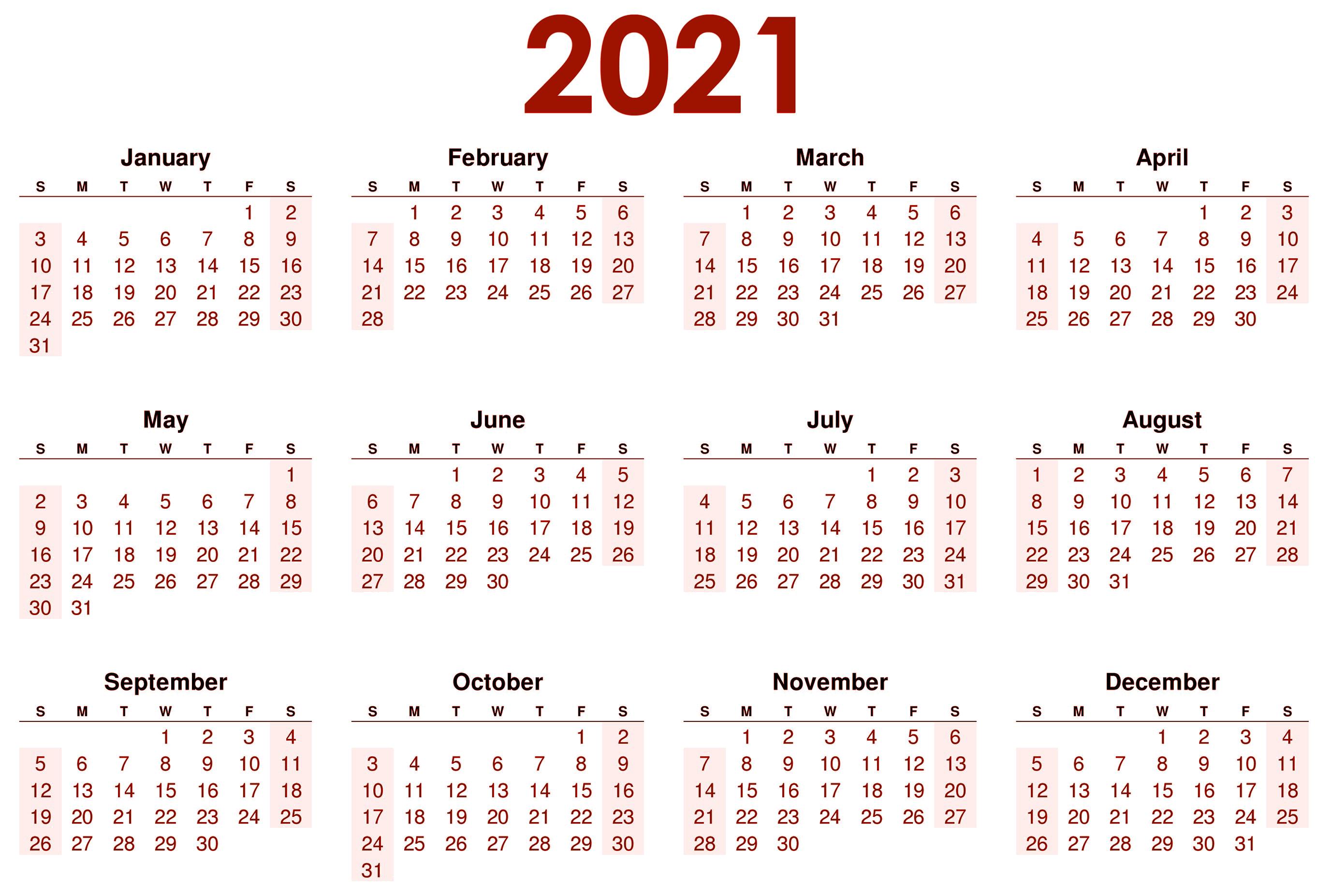 2021 Calendar Wallpapers   Top 2021 Calendar Backgrounds 2755x1853