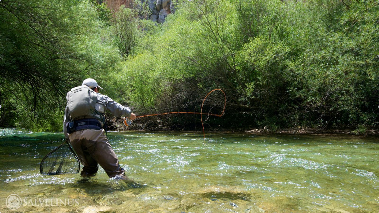 Fly Fishing Wallpaper Fly fishing school in spain 1600x900