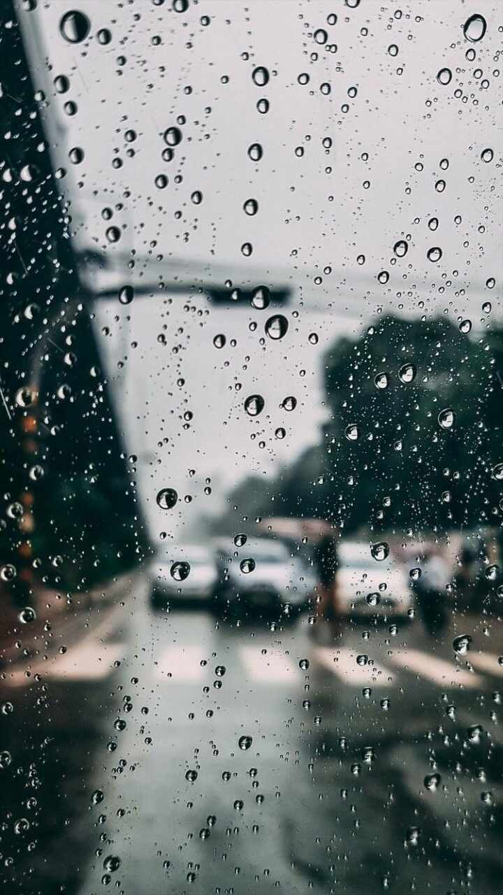 Rain wallpaper Iphone wallpaper rain Weather wallpaper Rainy 720x1280