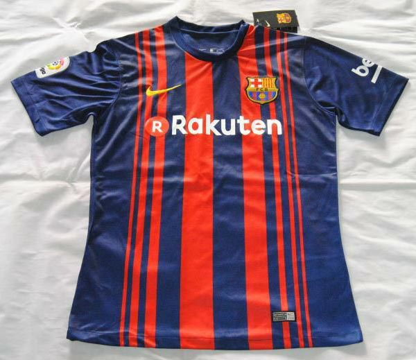 52f6bbfa7f9 LEAKED Is This the Barcelona 17 18 Home Kit Footy 600x519