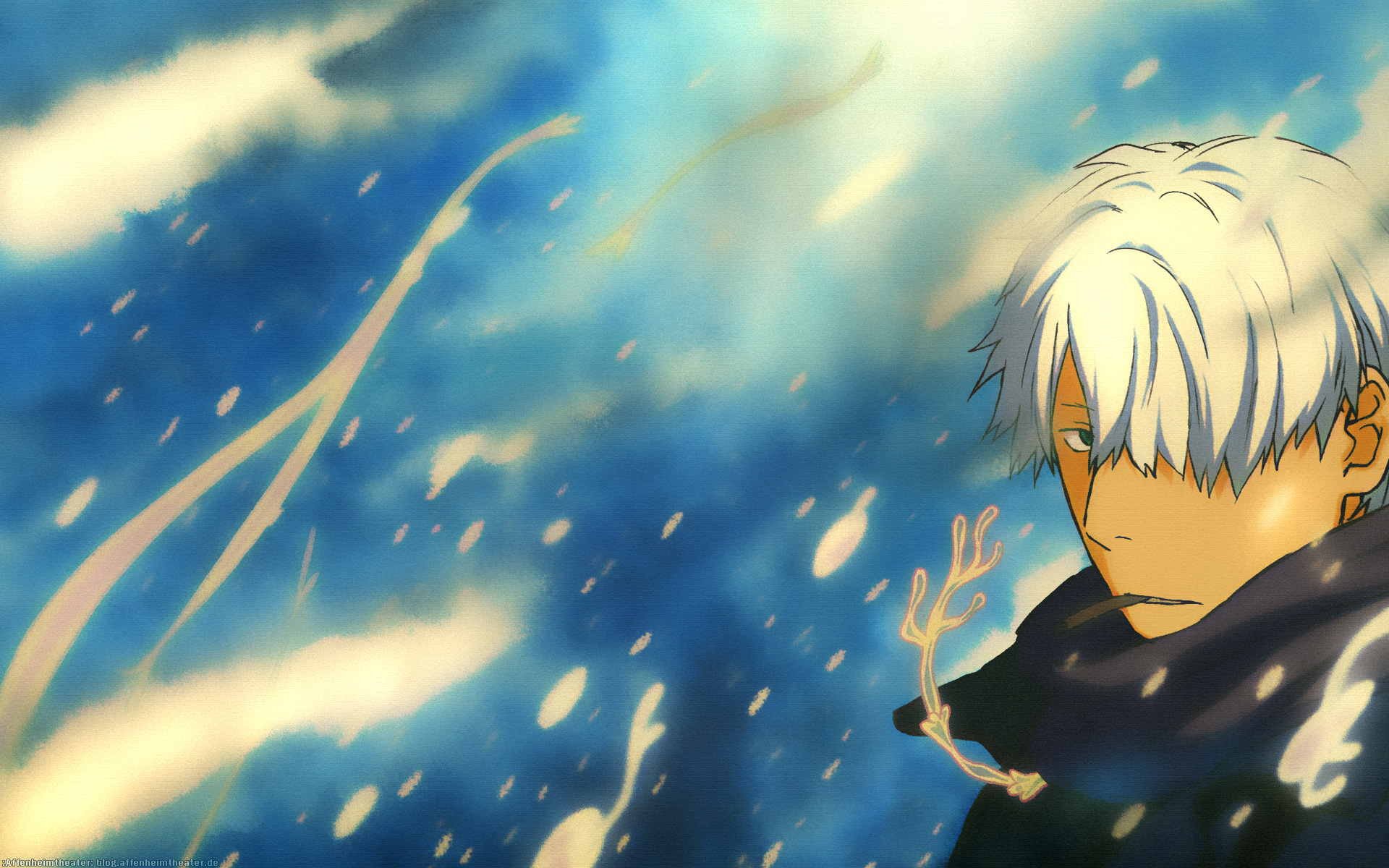 Ginko Mushishi 8 Desktop Wallpaper 1920x1200