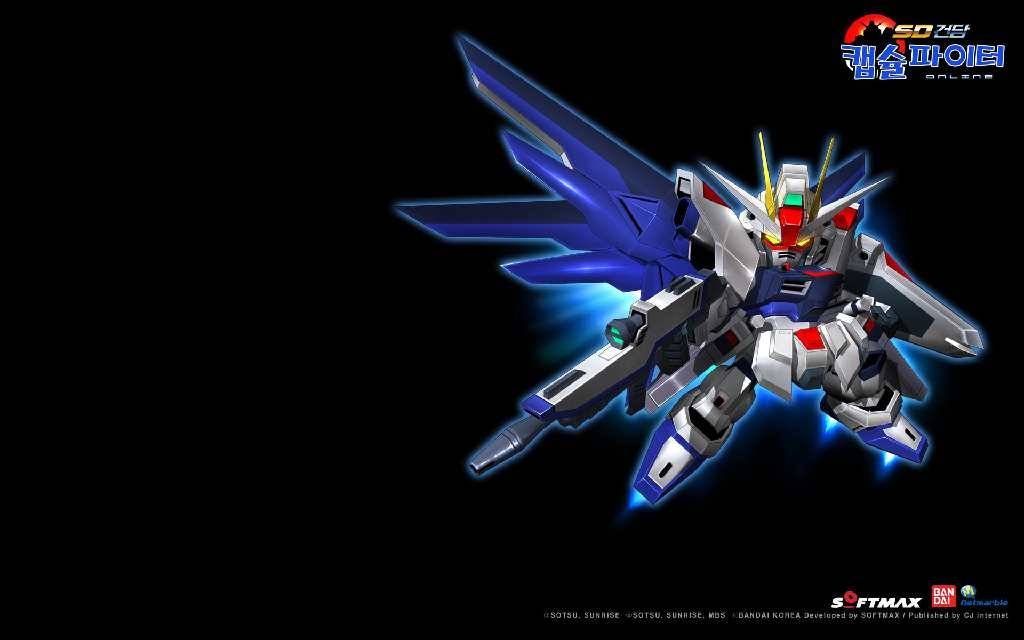 123936 sd gundam capsule fighter online sd freedom gundam blackjpg 1024x640