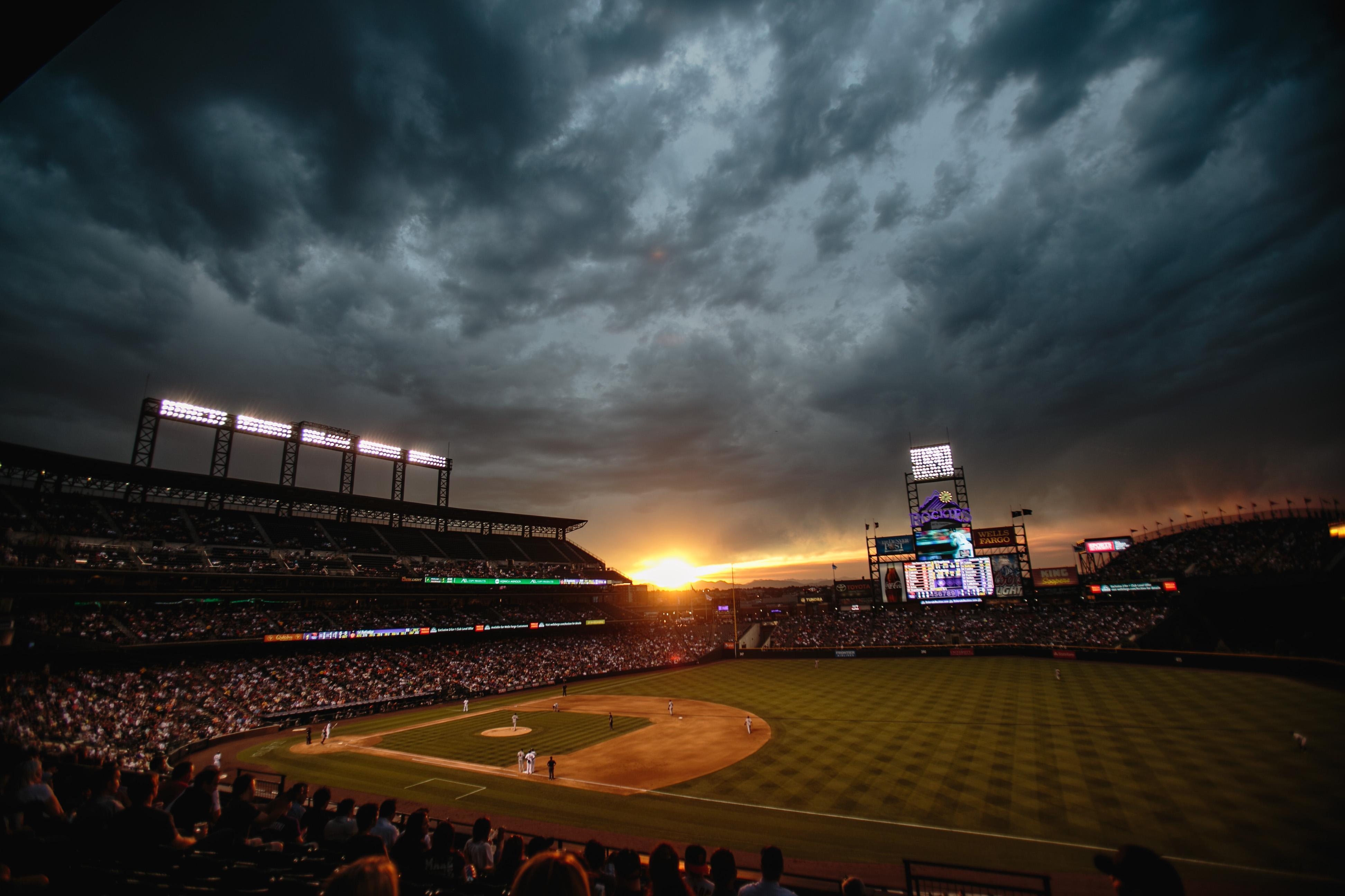 Baseball Field Wallpaper Hd Images amp Pictures   Becuo 3888x2592