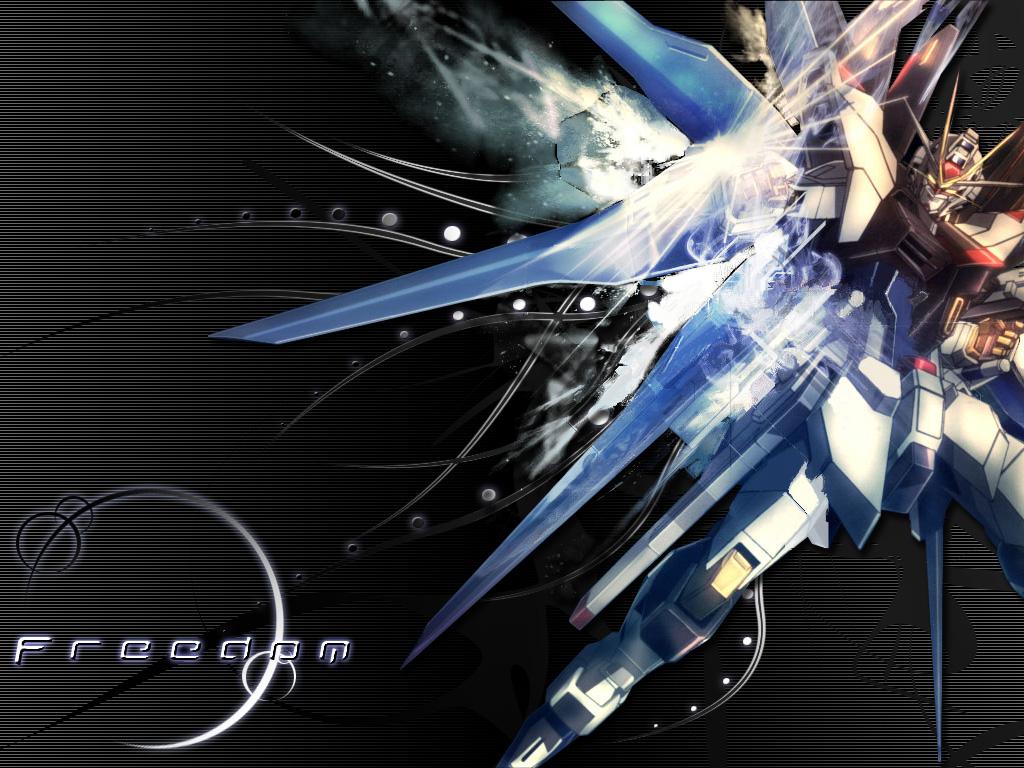 Gundam Freedom by ArkaneApocolypse 1024x768