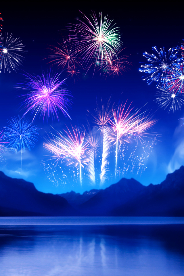 New Years Eve Wallpaper 640x960