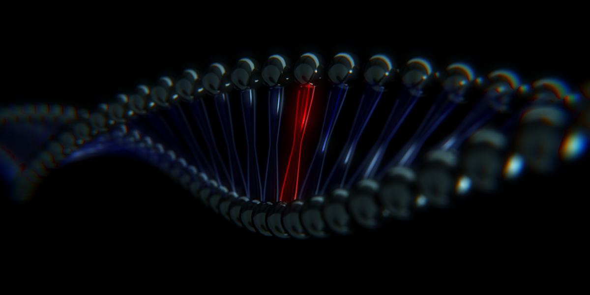Dna Double Helix Wallpaper Double helix by deridor 1200x600