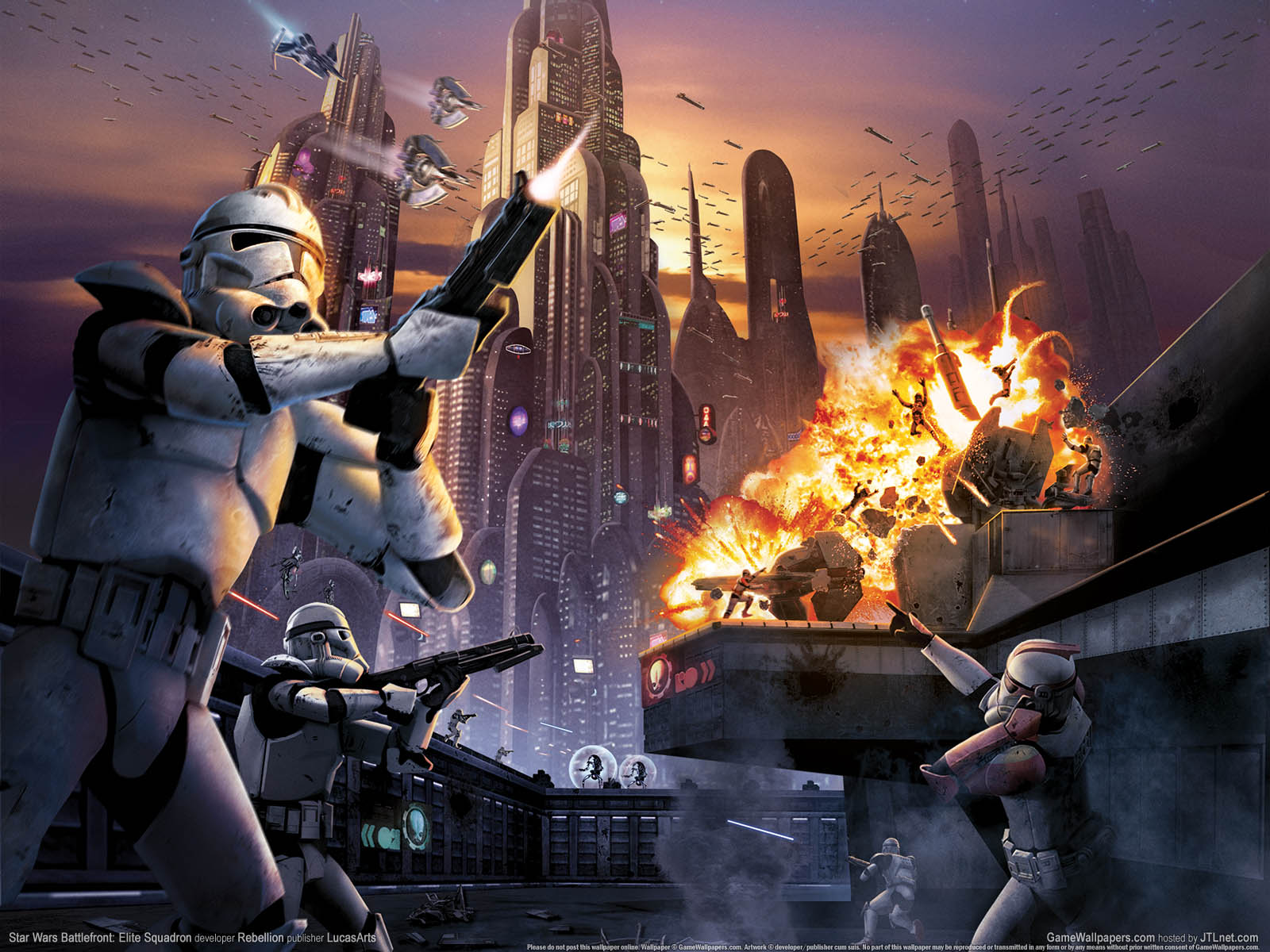 Free Download Star Wars Troopers Battle Star Wars Wallpaper