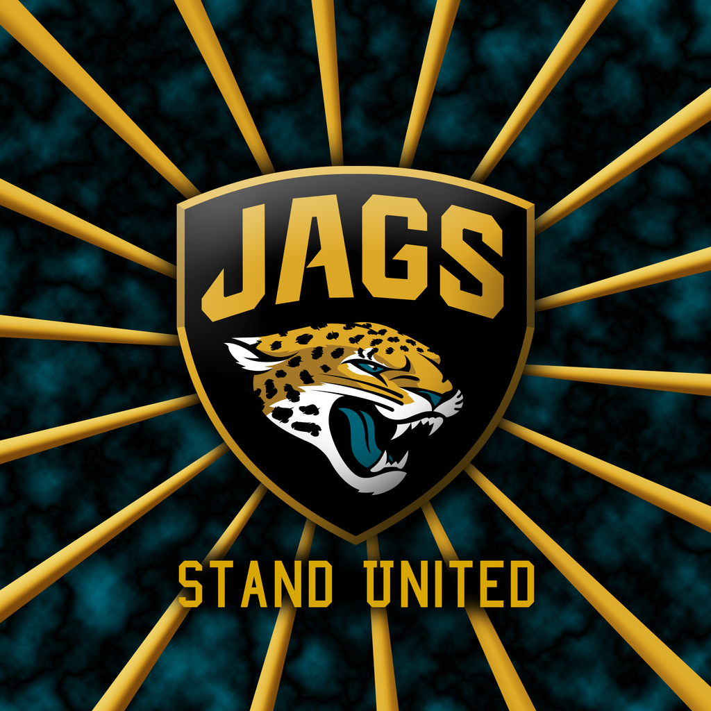 Jacksonville Jaguars Stand United iPad wallpaper by DeluX Design on 1024x1024