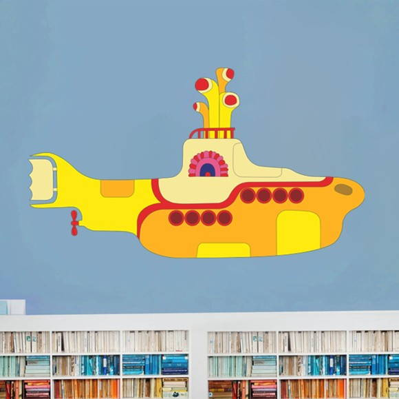 wallpapercomphotoyellow submarine desktop wallpaper6html 580x579