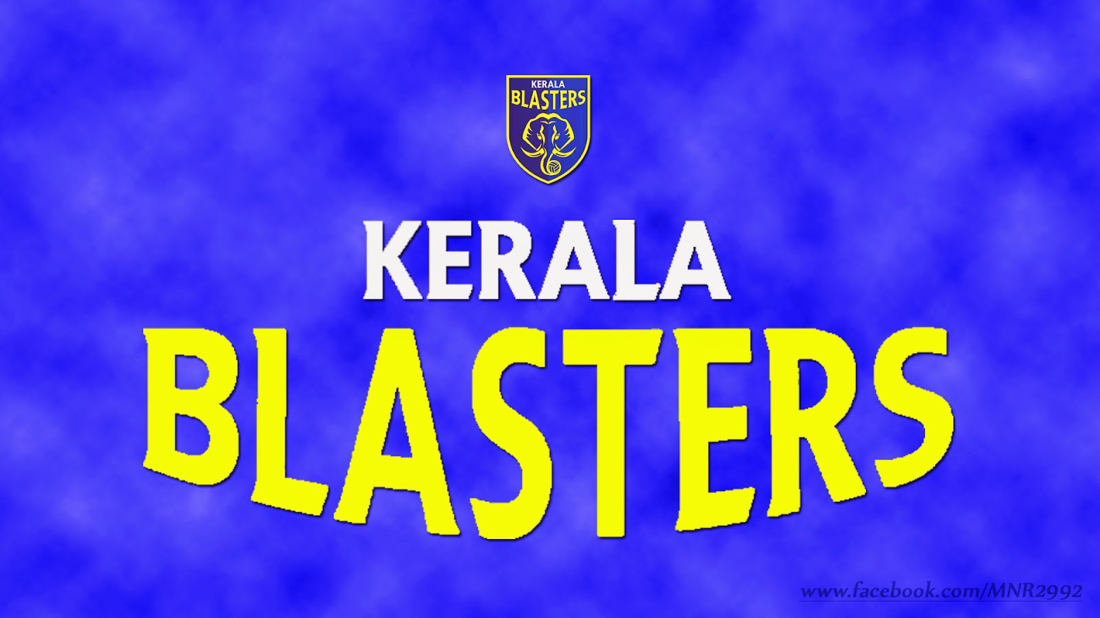 Kerala Blasters Logo Wallpaper Kbfc Indian Super League   Kerala 1600x900