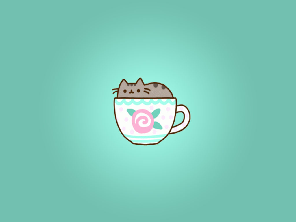 Pusheen Cat Desktop Wallpaper - WallpaperSafari