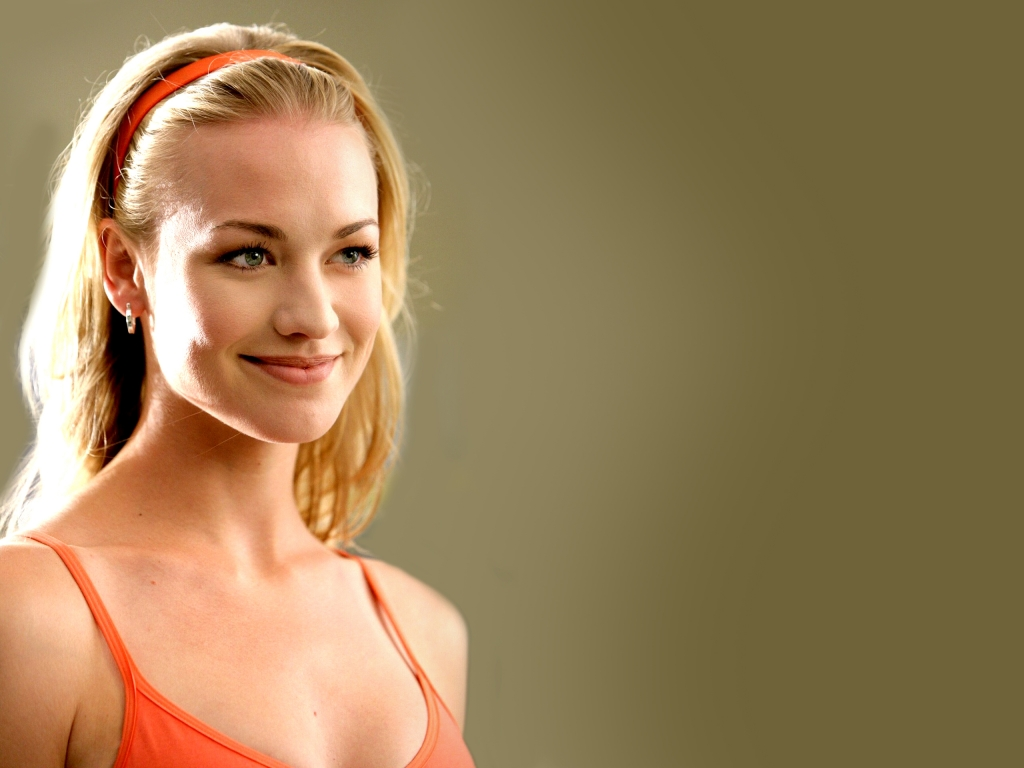Yvonne Strahovski Underwear Wallpaper Full HD 1024x768