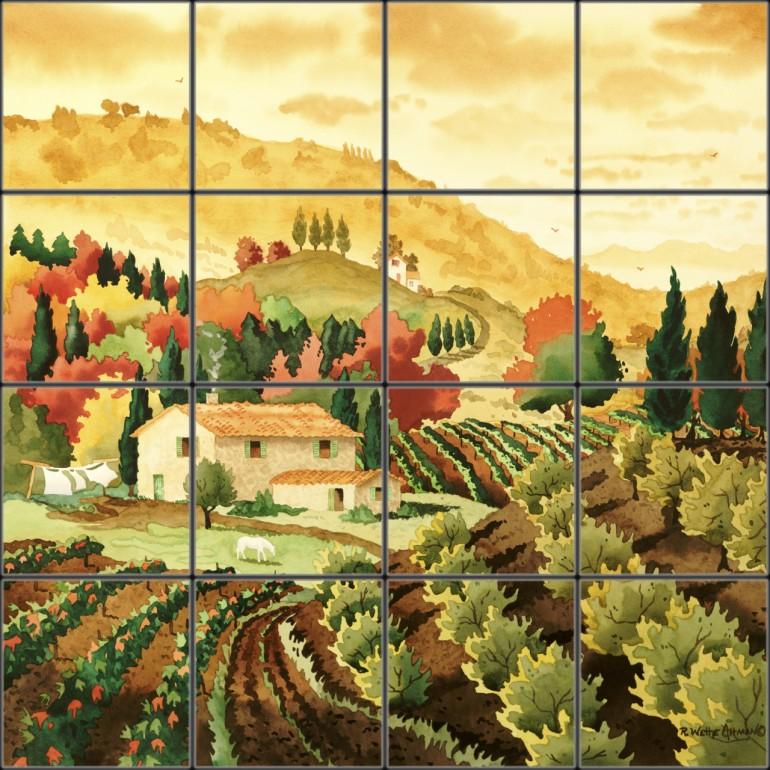 tuscan wallpaper murals   wwwhigh definition wallpapercom 770x770