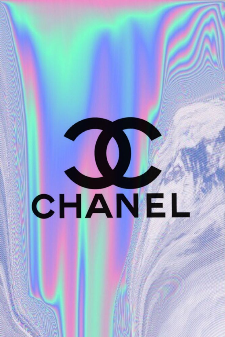 chanel logo wallpaper pink