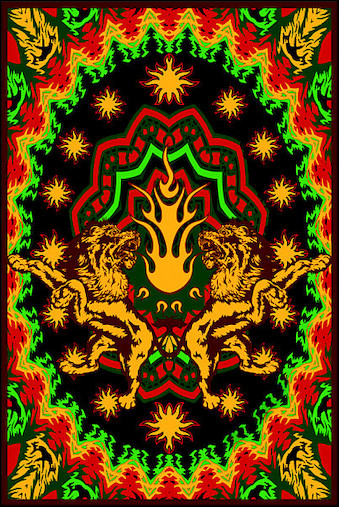 Trippy Rasta Backgrounds For Pinterest 339x507