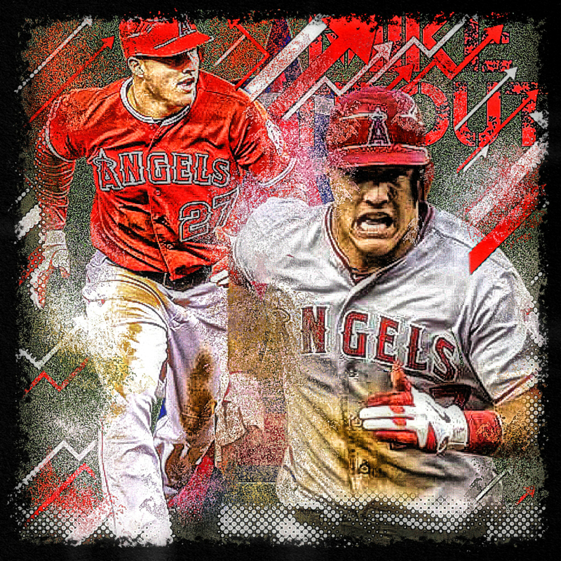 Free Download Mike Trout Wallpaper 800x800 For Your