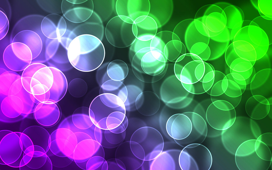 Free download Purple and Green Digital Bokeh by Karl with ...