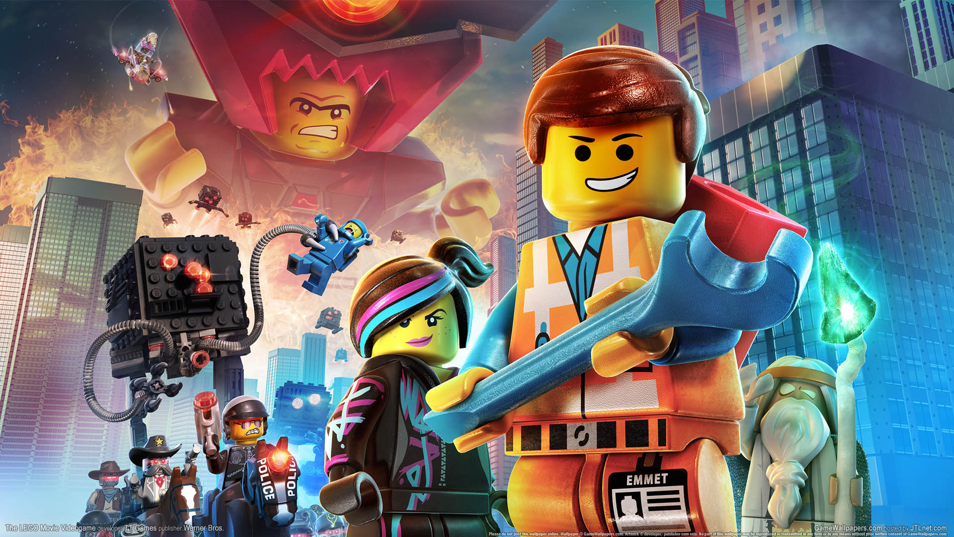 The LEGO Movie Videogame HD Wallpapers and Background Images 1920x1080
