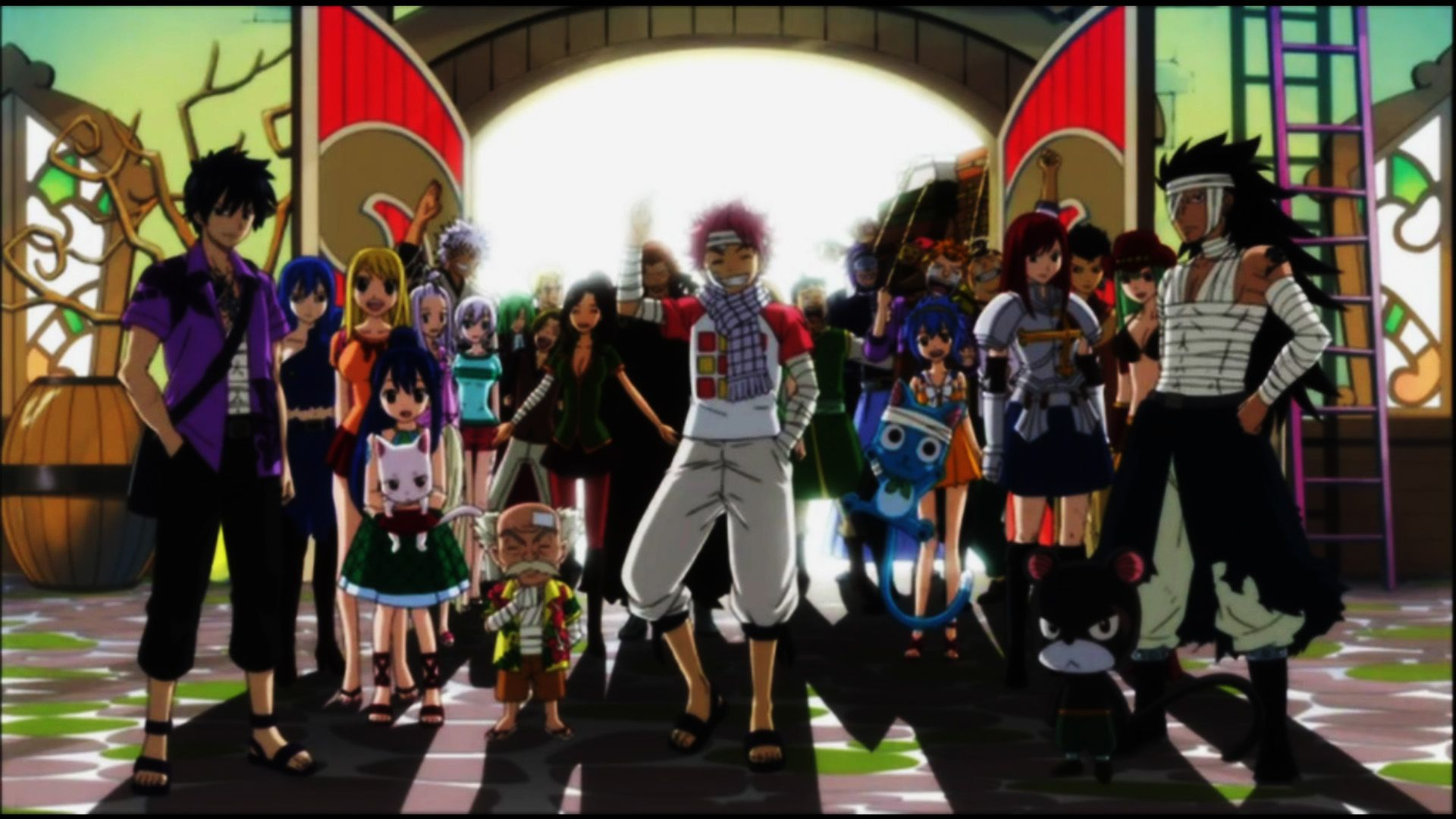 Fairy Tail Back From Tenroujima Arc HD Wallpaper | Anime Wallpapers