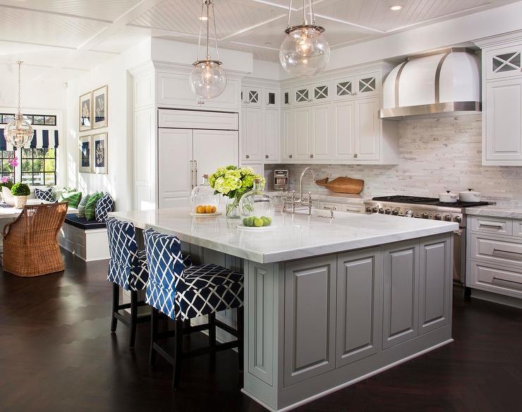 Diagonal Beadboard Kitchen Ceiling 740x584