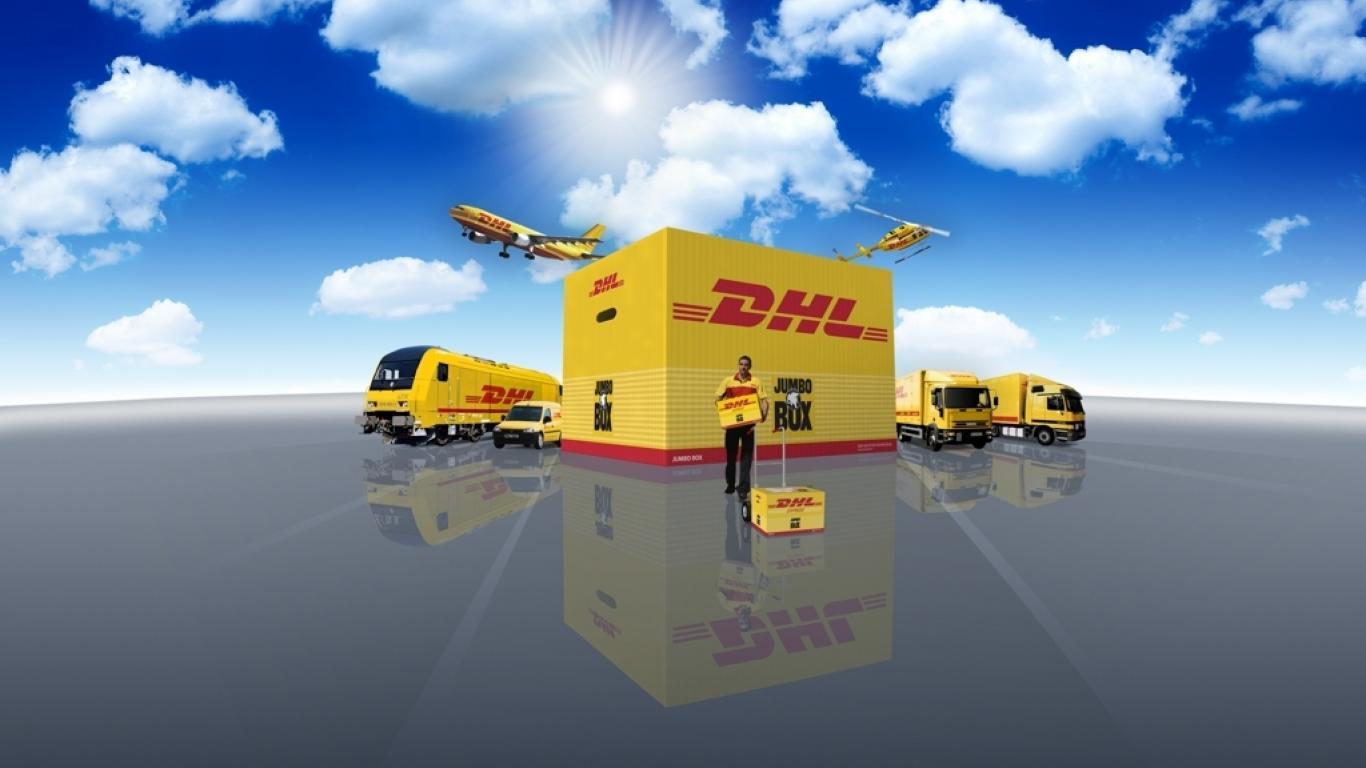 DHL Desktop Backgrounds 1366x768