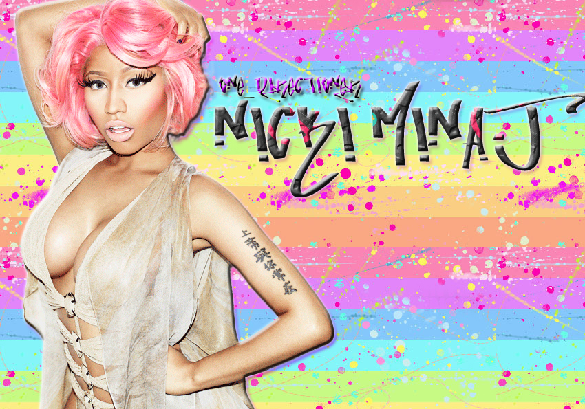 Nicki Minaj wallpaper by one directioner 850x595