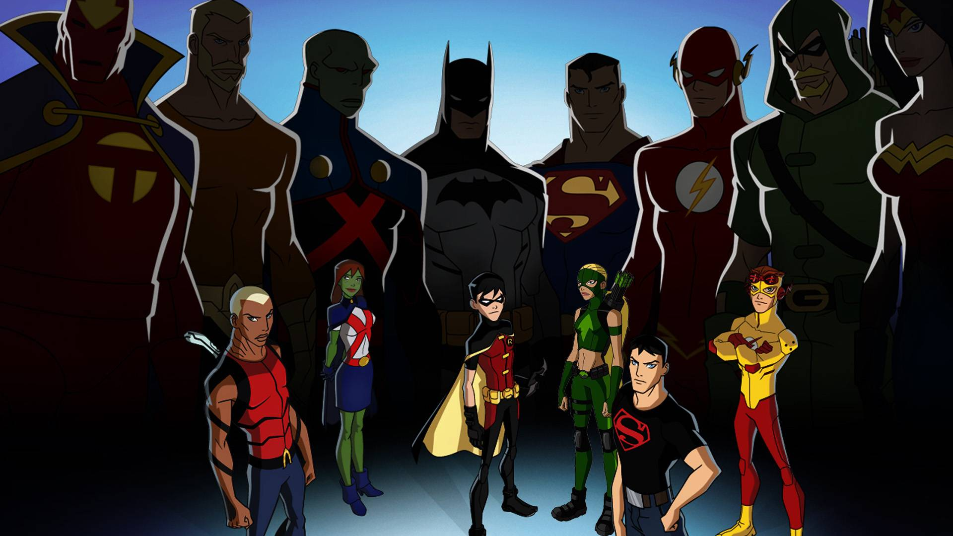 Young Justice   Young Justice Wallpaper 1920x1080