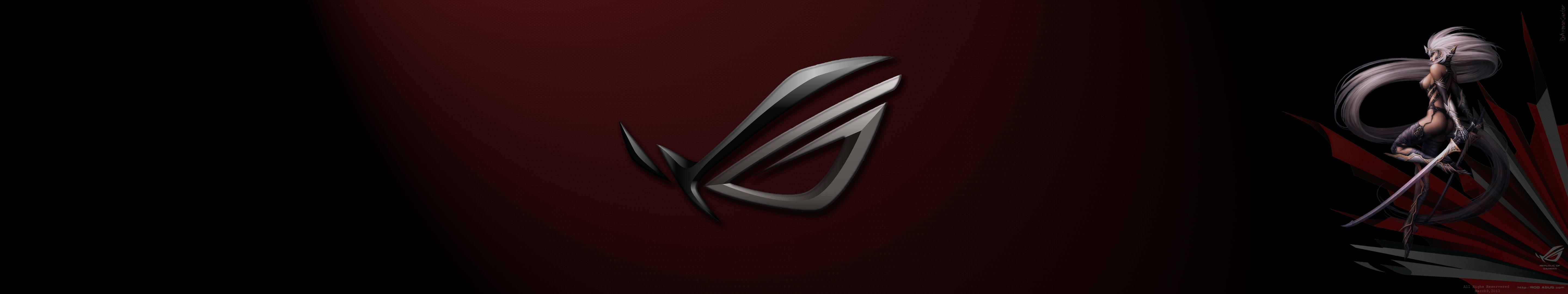 rog eyefinity wallpaper