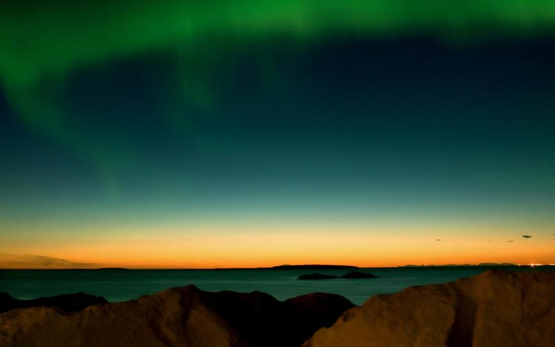 tags sky northern lights sunsets auroras nature landscapes 800x500