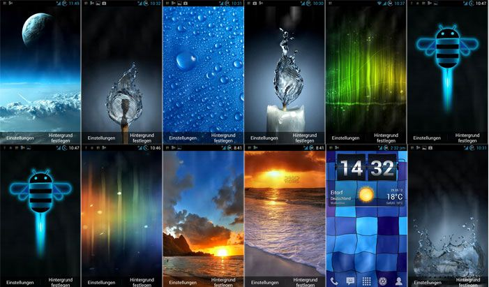 Samsung Galaxy Live Wallpapers