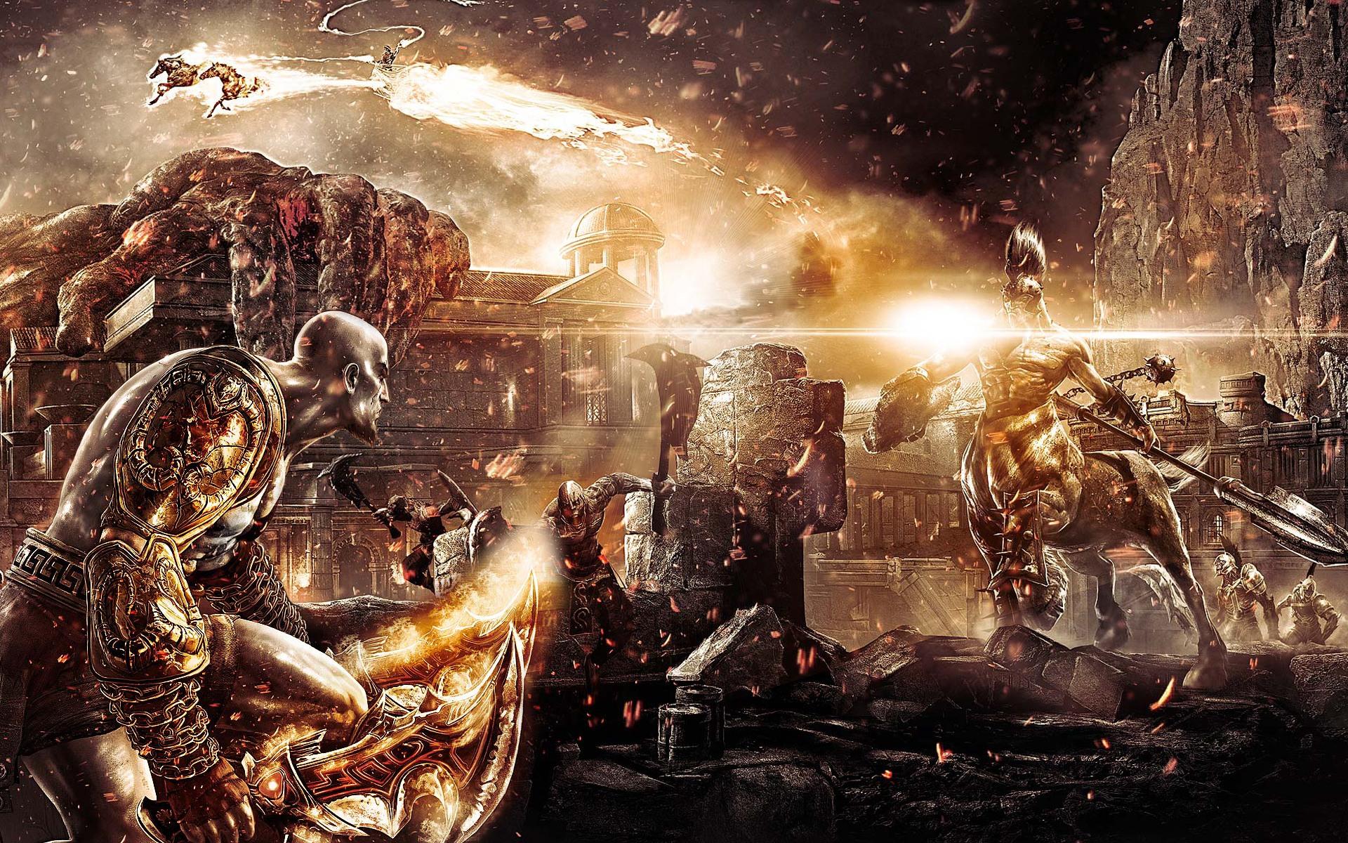 God Of War III Desktop Wallpaper 1920x1200