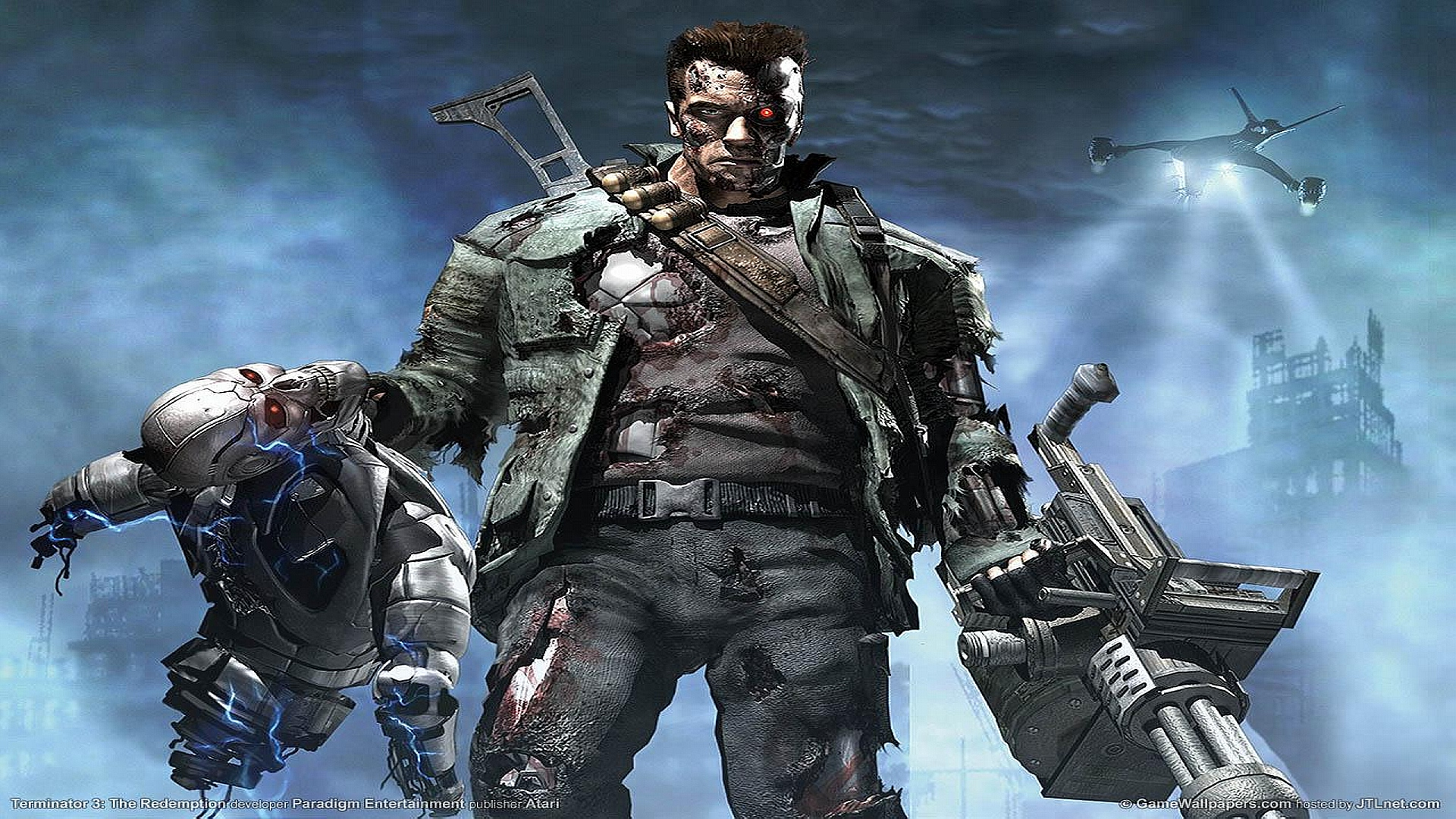 Terminator Console Game Wallpapers HD Wallpapers 1920x1080