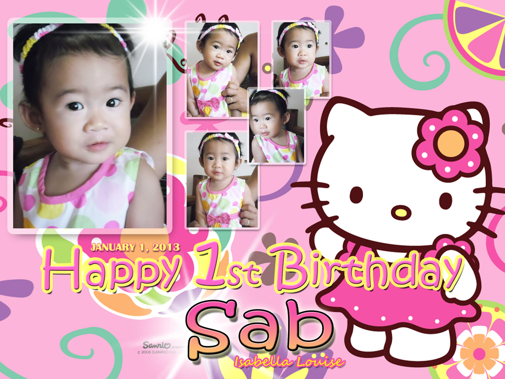 1024x768px Hello Kitty Birthday Wallpaper Wallpapersafari