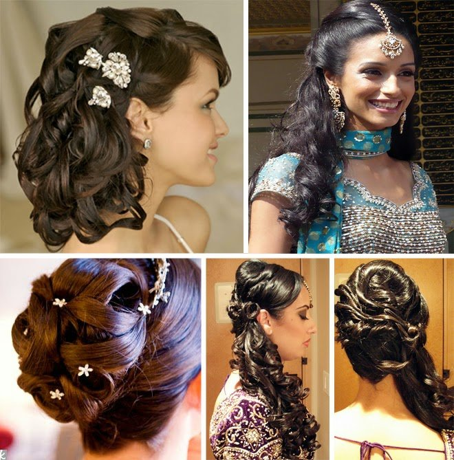 Indian Wedding Braid Hairstyles: Indian Inspired Wallpaper