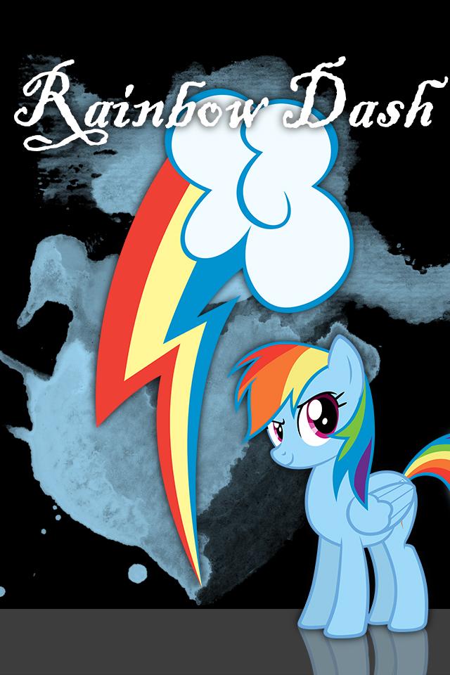 rainbow dash iphone wallpaper - photo #25