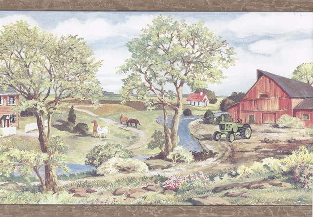 Clearance Clearance Wallpaper Borders Wooden Country Farmer Wallpaper 640x444