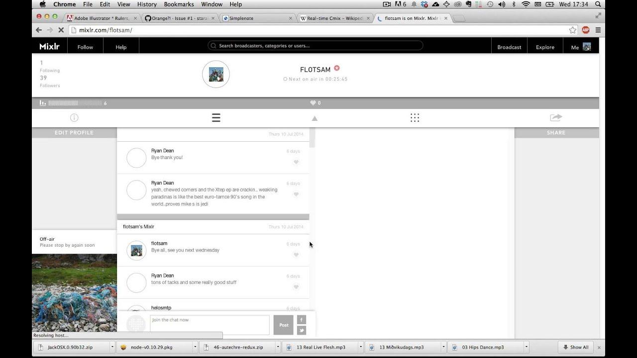 FLOTSAM is starting soon Vol 15 Influences 1440x900