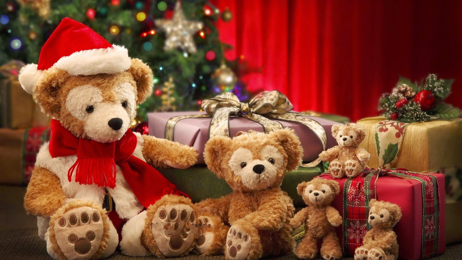 Christmas decoration Dolls and hand knitted Toys Images 1600x900