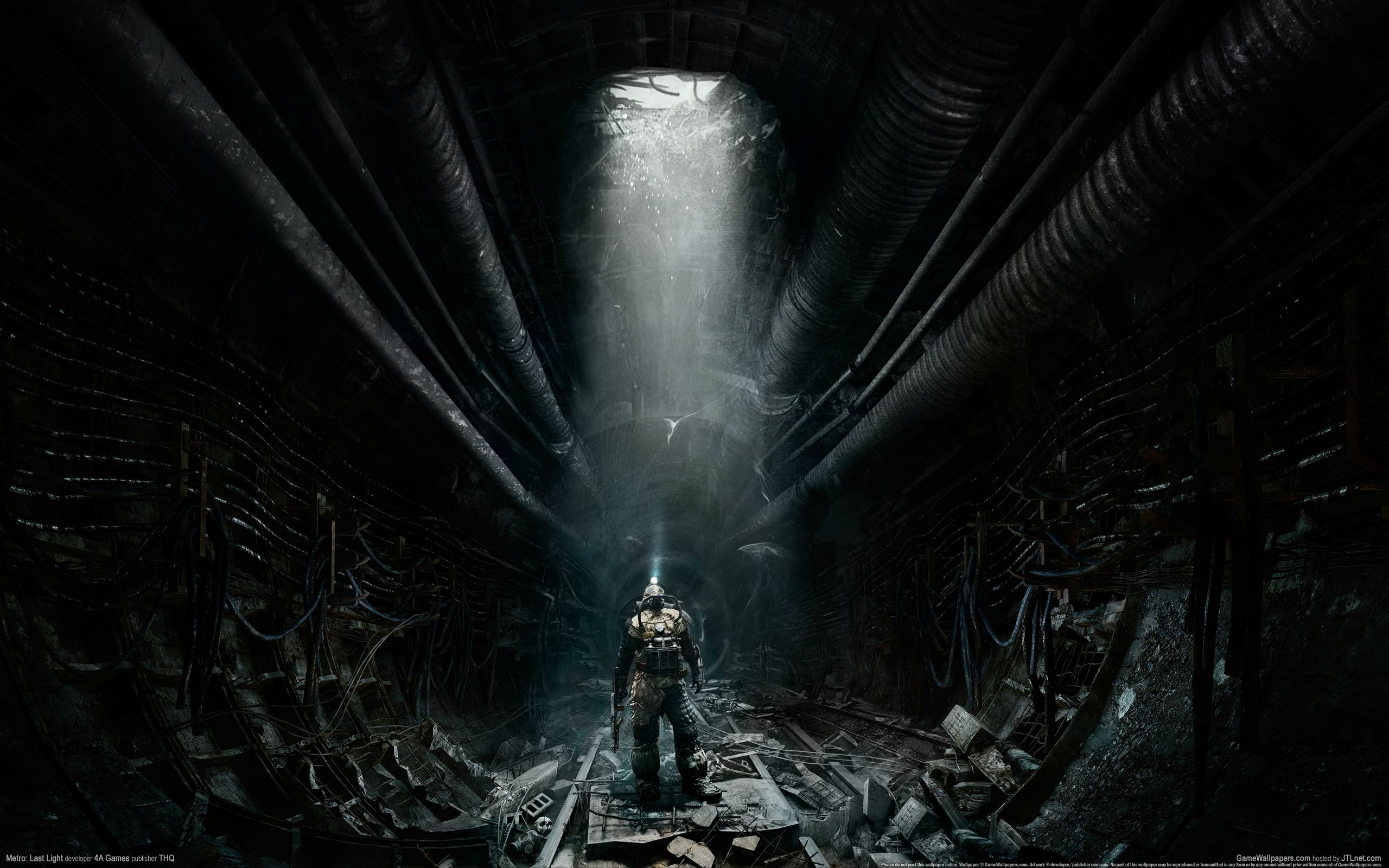 52 Metro Last Light HD Wallpapers Background Images   Wallpaper 2560x1600