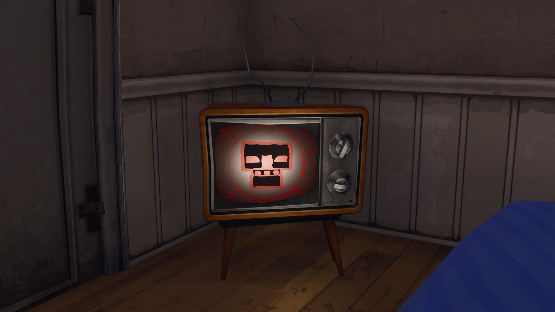 Mysterious Images Have Appeared On TV Screens Across Fortnites Map 1920x1080