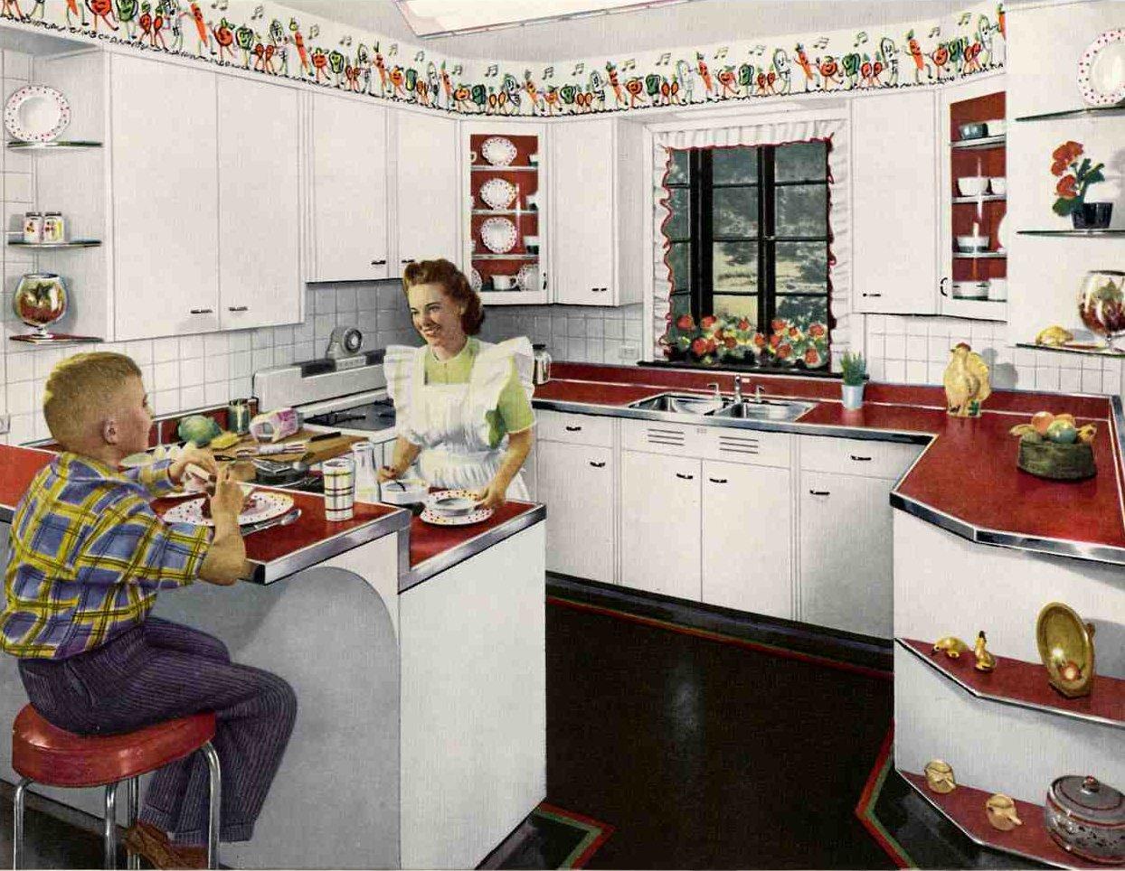 9+] Kitchen Wallpaper Borders Ideas on WallpaperSafari