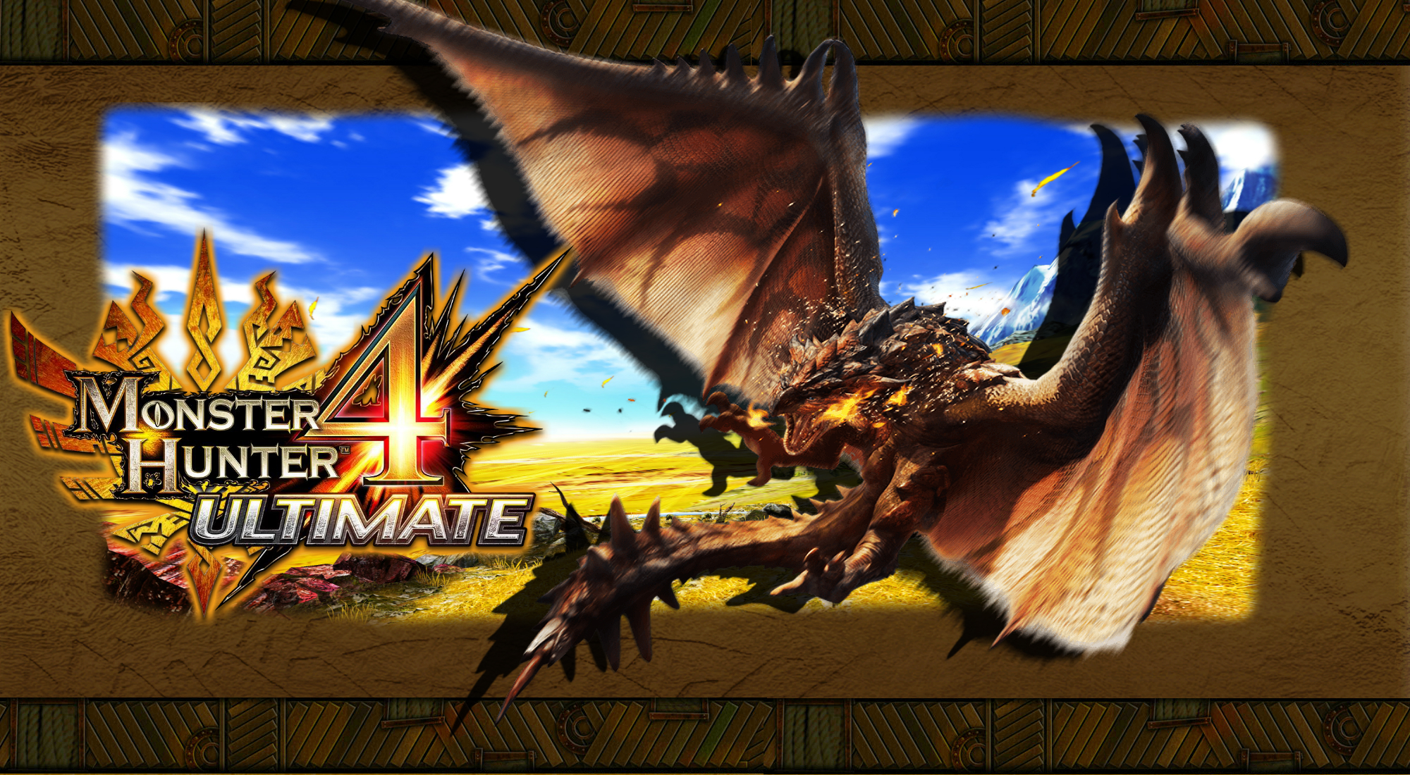 Monster Hunter 4 Ultimate Wallpaper Wallpapersafari