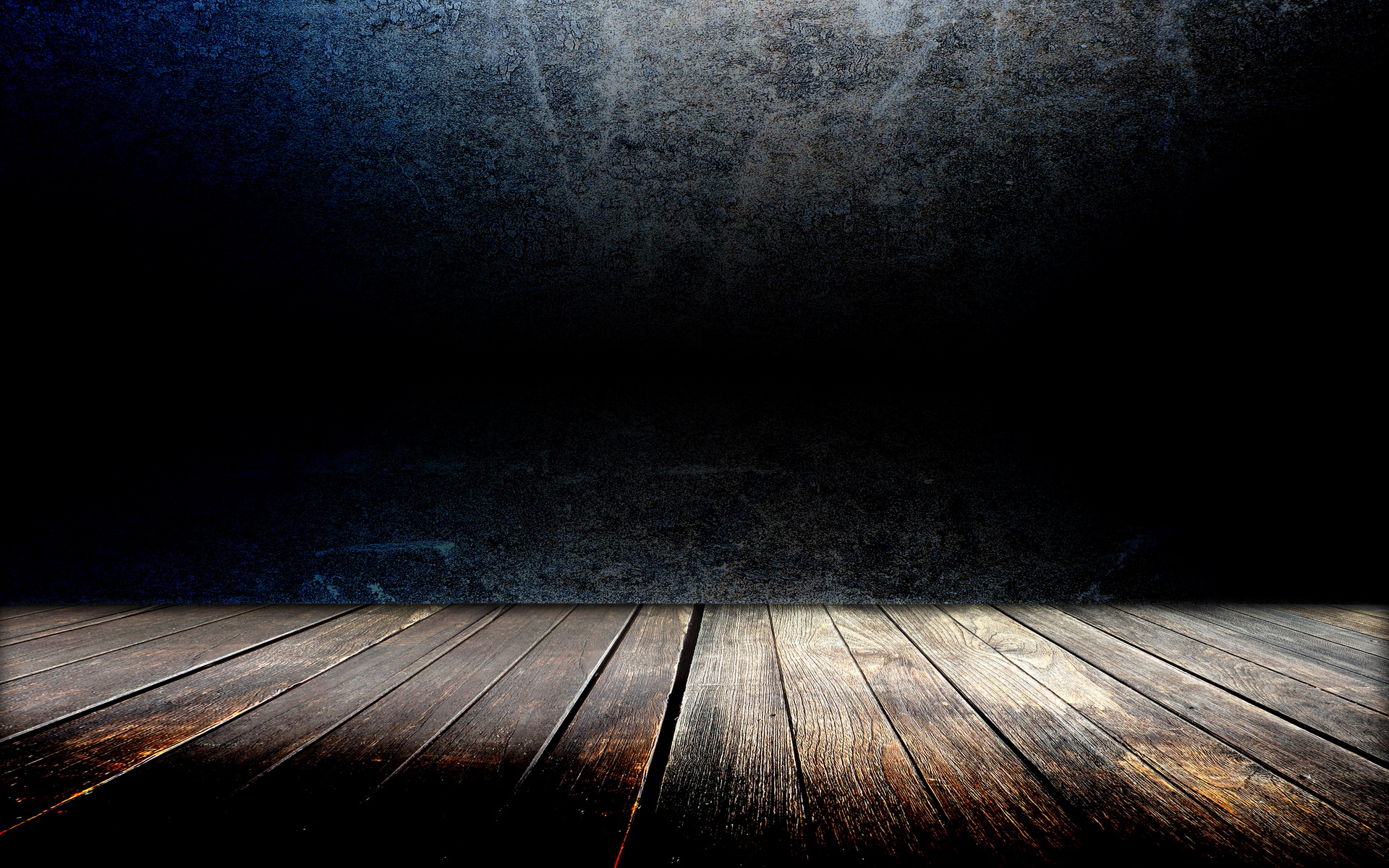 Black Wood Floor Wallpaper